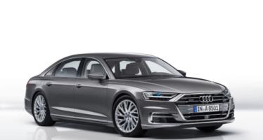 Audi A8 2018 Handling