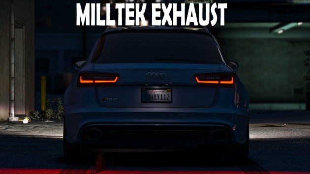Audi RS6 2014 MILLTEK EXHAUST