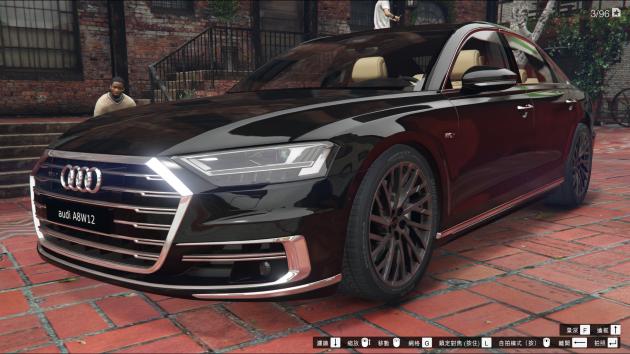 Audi A8 W12 2012