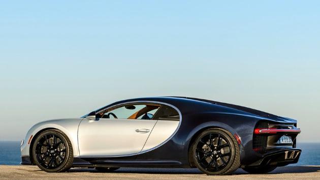 Bugatti Chiron 2017 Handling