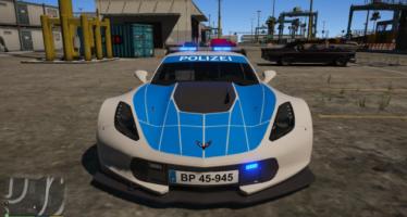 Chevrolet corvette CR7