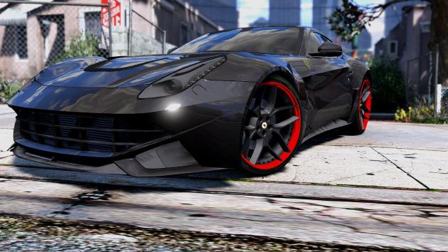 Ferrari F12 N-Largo Rosso DTD Edition