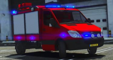 Fire Interior Sprinter