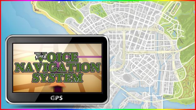 GTA IV Voice Navigation GPS