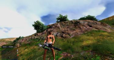 M134 Minigun Black