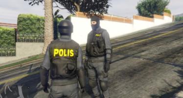 Swedish POLIS texture