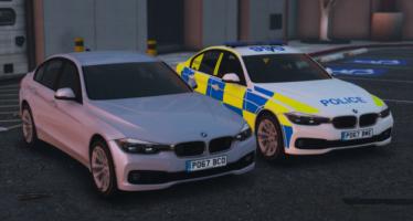 Police BMW 330D