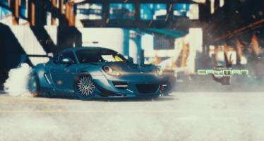 Porsche Cayman Rocketbunny