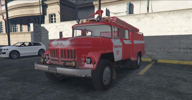 ZIL-131+130 Firetruck