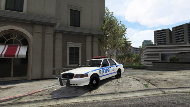 Ford NYPD CVPI