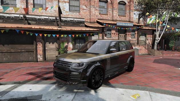 Land Rover Range Rover Mansory 2015