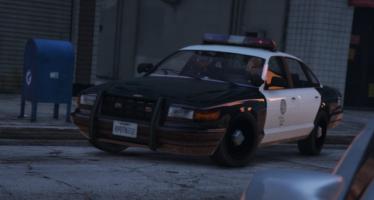 Vapid Stanier Police Cruiser