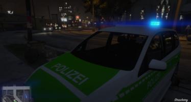 Volkswagen Touran Polizei