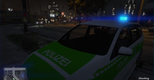 Volkswagen Touran Polizei Bayern