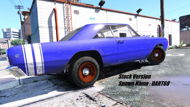 1968 Dodge Dart HEMI Super Stock
