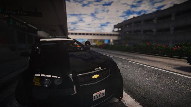Chevy Caprice — LA World Airports Police