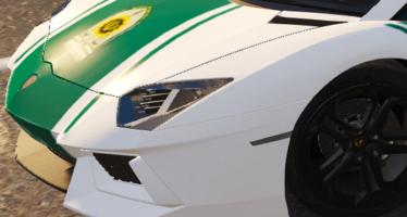 Iranian Lamborghini Police