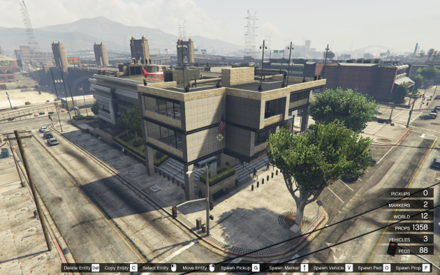 Extended Police Station and Luxury Safehouse