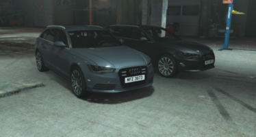 PSNI Audi A6
