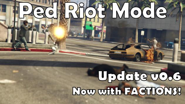 Ped Riot Chaos Mode