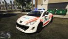 Peugeot RCZ police swiss