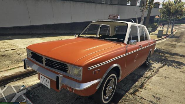 1975 Peykan Taxi
