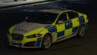 Police Jaguar XFR