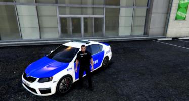 Police Skoda Octavia