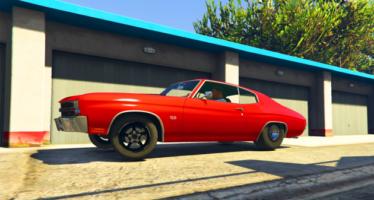 Pro Street Chevelle