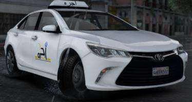 Saudi Taxi Toyota