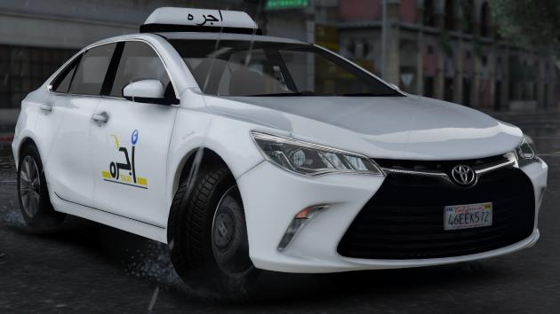 Saudi Taxi Toyota Camry