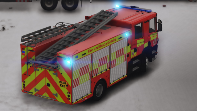 Scania P280 Essex Fire
