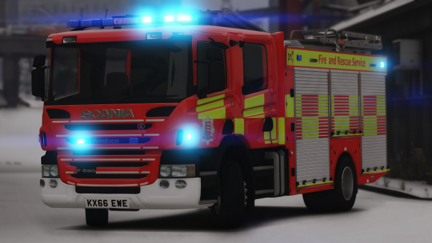 2015 Scania P280 Essex Fire
