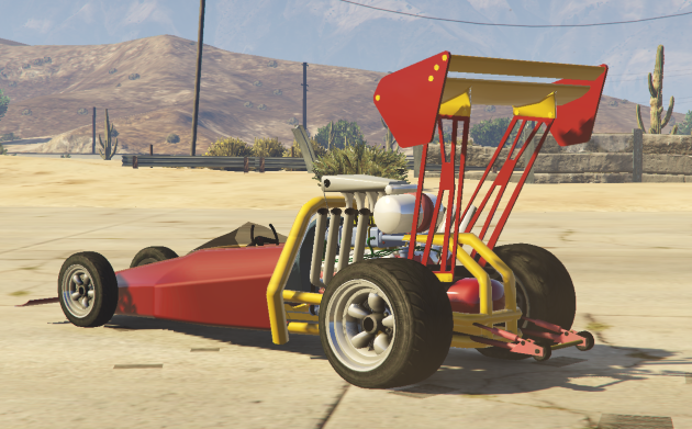 80s Top-fuel Dragster