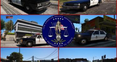 LAPD Car Pack
