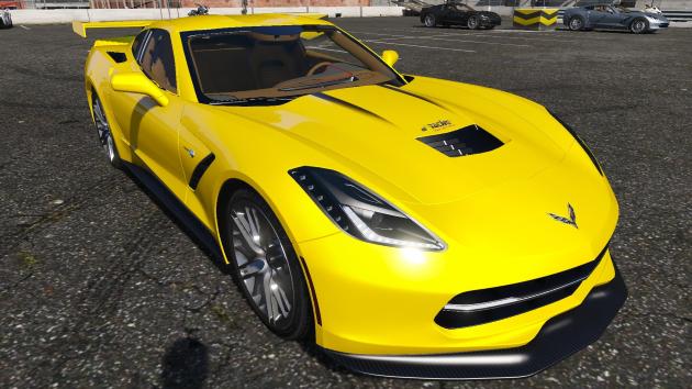 Chevrolet Corvette Stingray C7 2014