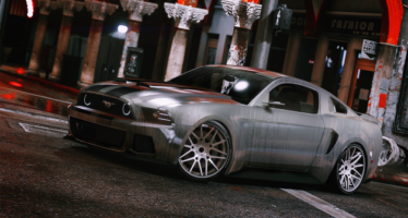 NFS Movie Mustang