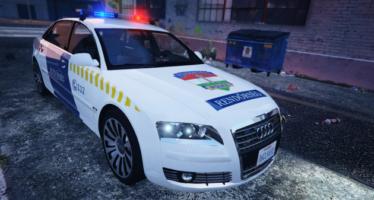 Police Audi A8
