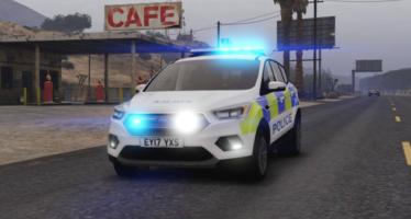 Police Ford Kuga