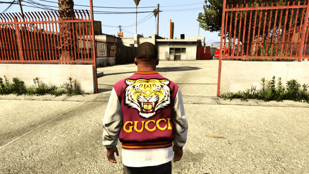 Gucci Letterman Jacket