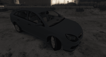 PSNI Vauxhall Vectra