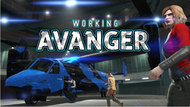 Working Avenger in SP