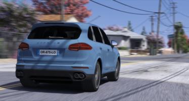 Cayenne turbo 2016