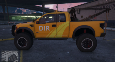 Lifted Raptor Towtruck