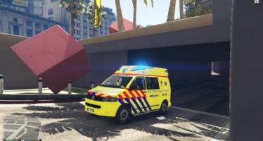 Slovenian ambulance