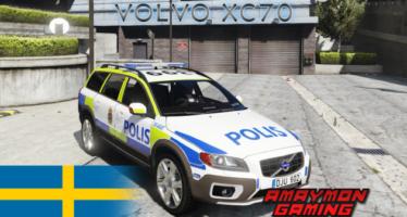 Swedish Police Volvo XC70