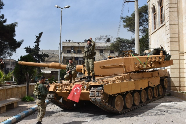Turkish Armed Forces Leopard 1A5 afrin tank