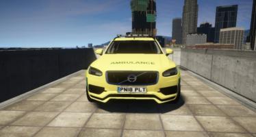 Ambulance XC90