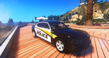LSPD Christmas Tree Dodge Charger