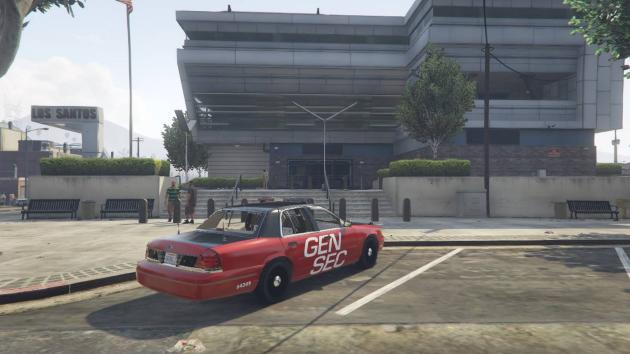 Ford CVPI GENSEC